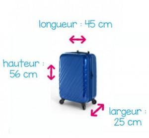 bagage 56 x 45 x 25 cm