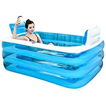 baignoire gonflable adulte