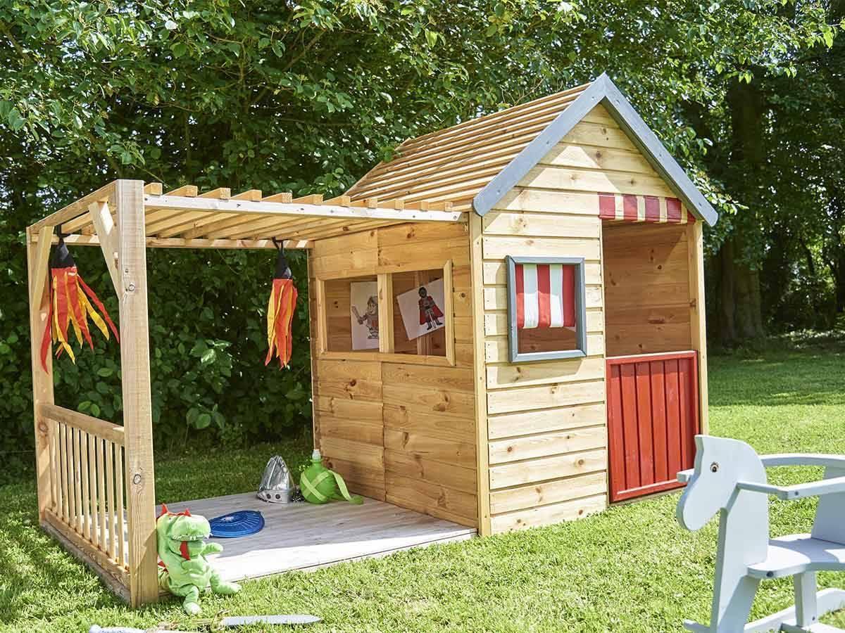 cabane enfant bois