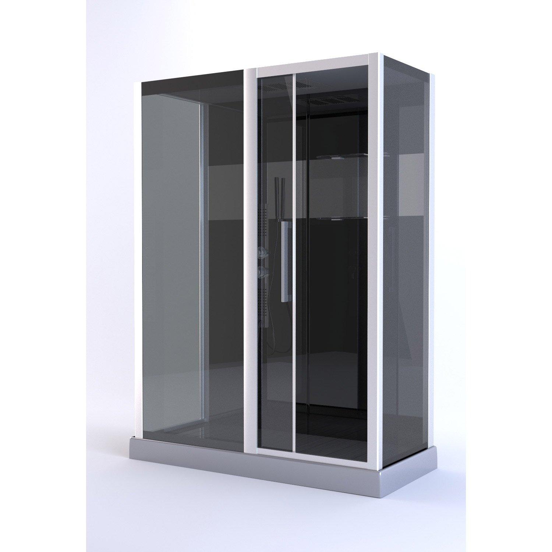 cabine de douche rectangulaire