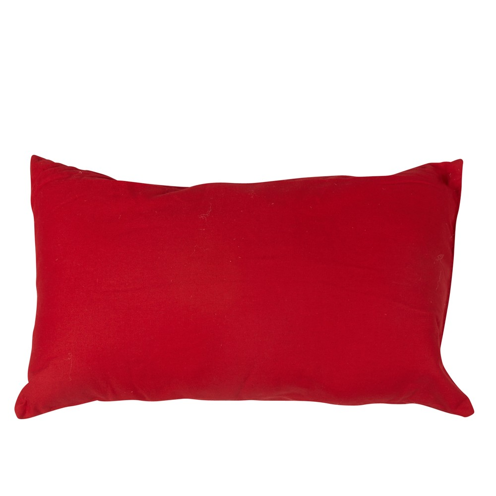 coussin rouge