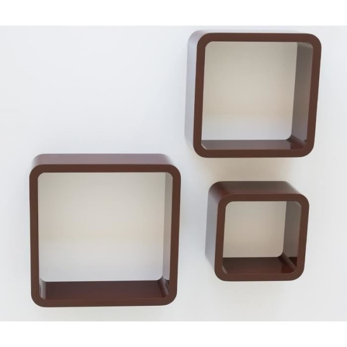cube de rangement mural