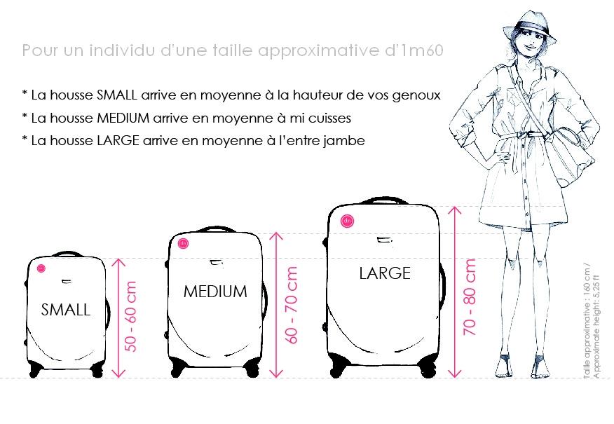 dimension des valises