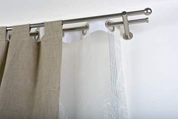 double tringle a rideau