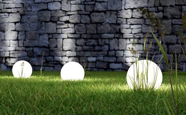 eclairage exterieur jardin