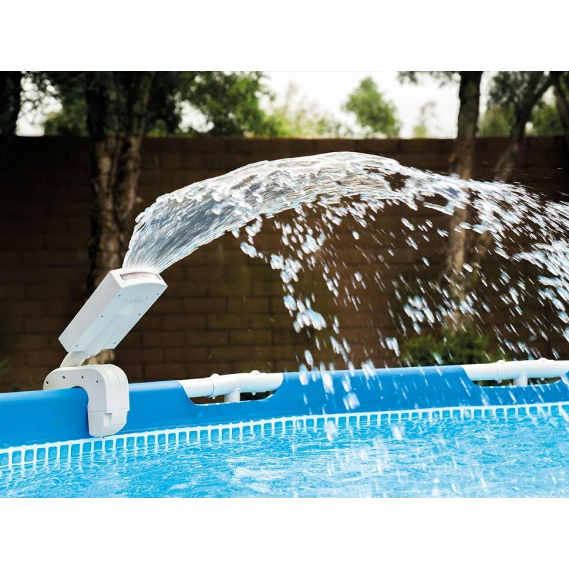 fontaine piscine hors sol