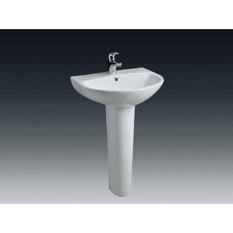lavabo avec colonne