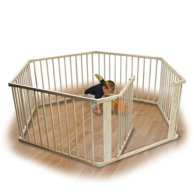 parc en bois pour bébé