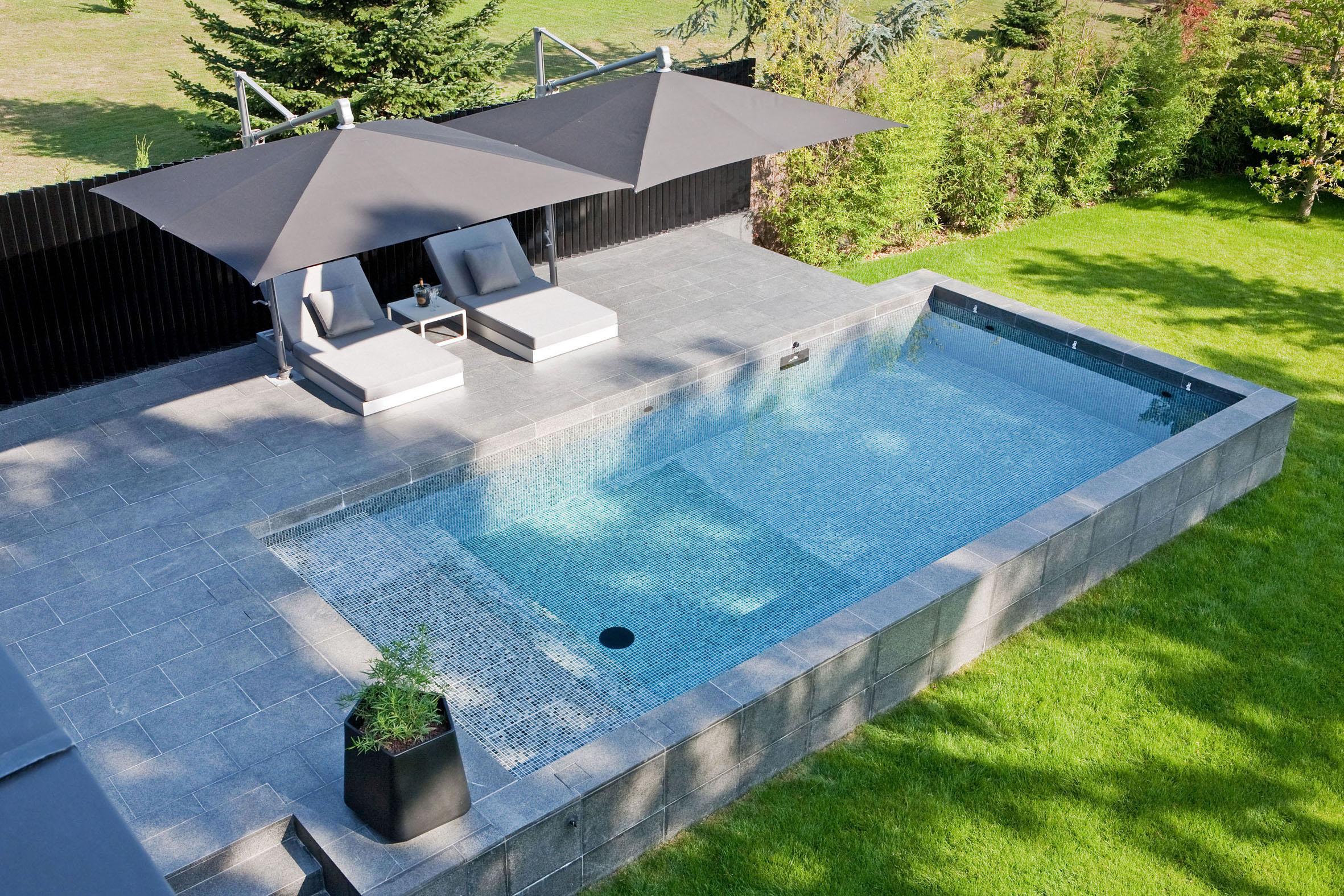 piscine hors sol chauffée