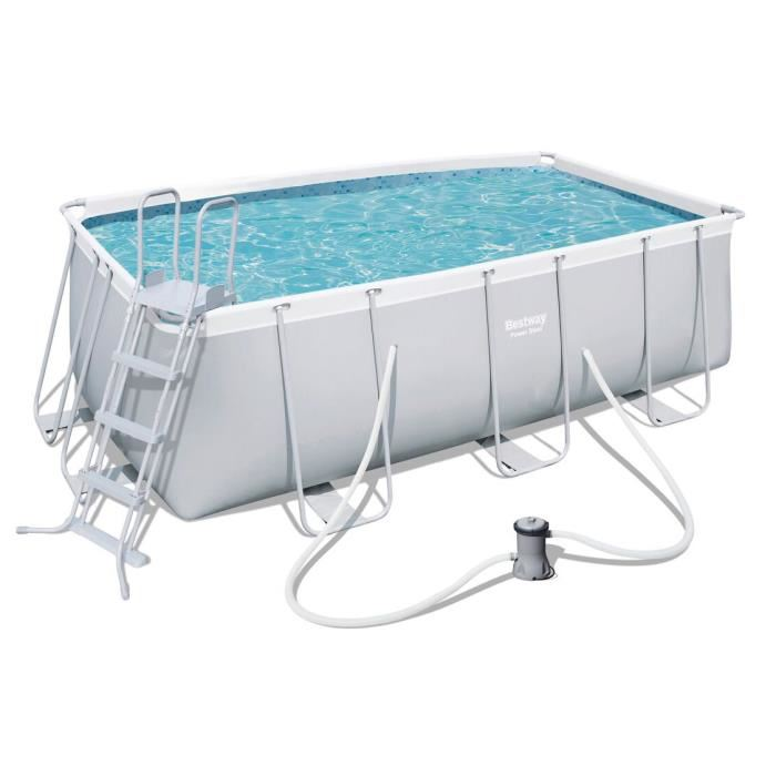 piscine tubulaire rectangulaire