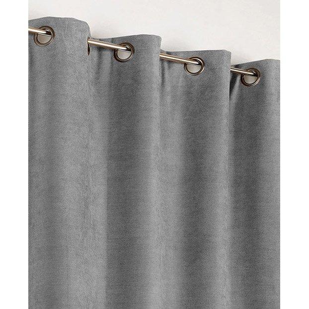 rideau gris clair
