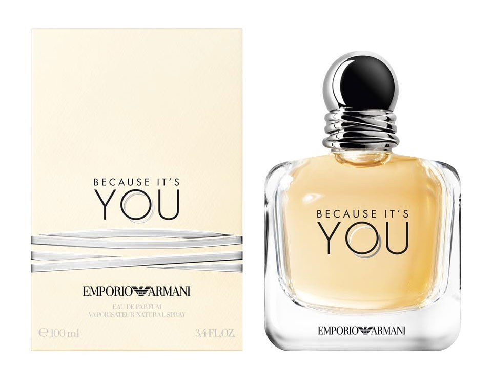armani because it's you