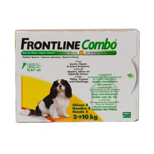 frontline combo petit chien