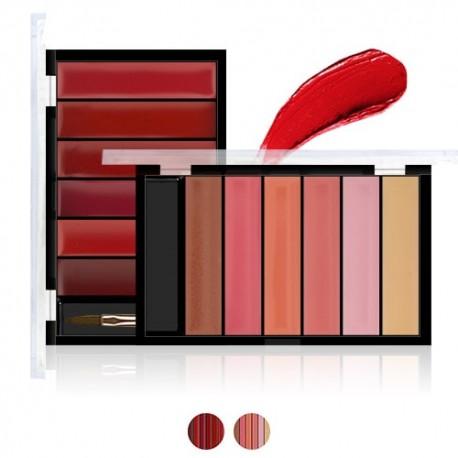 palette rouge a levre