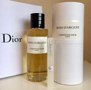 parfum dior bois d argent