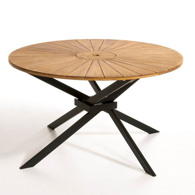 table ronde de jardin