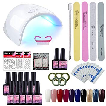 vernis semi permanent kit