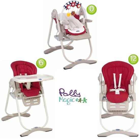 chaise haute 3 en 1 chicco