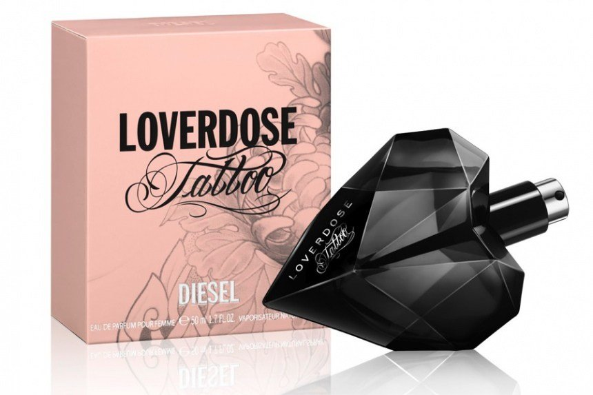parfum diesel loverdose tattoo