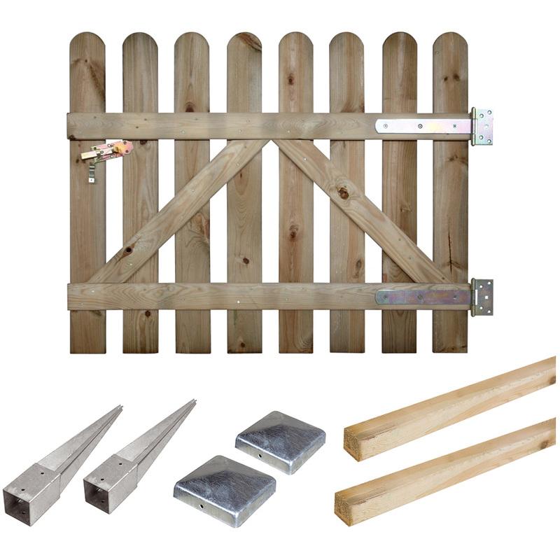 portillon bois en kit